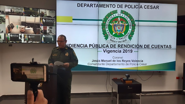 """""""32 bandas delincuenciales desmanteladas  este año en el Cesar"""""""