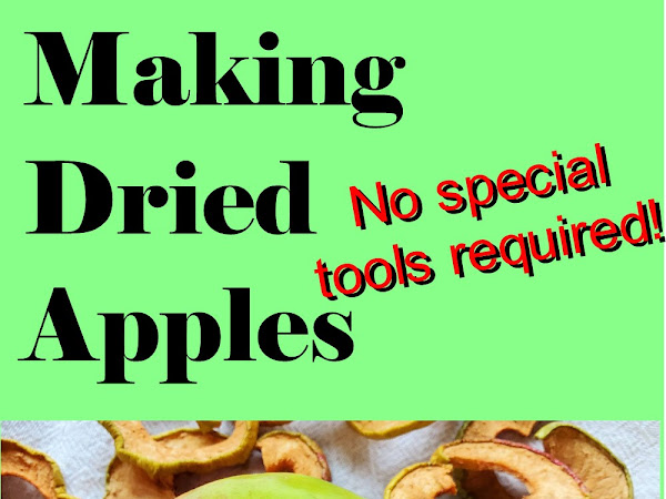 How to Dehydrate Apples - No Special Tools Required! (with video)