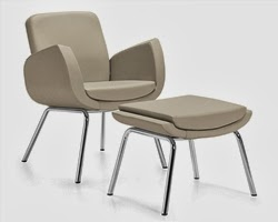 Kate Lounge Chair and Ottoman