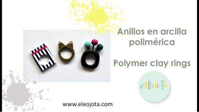 tutorial anillos arcilla polimerica