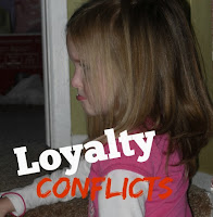 loyalty conflicts within a blended family