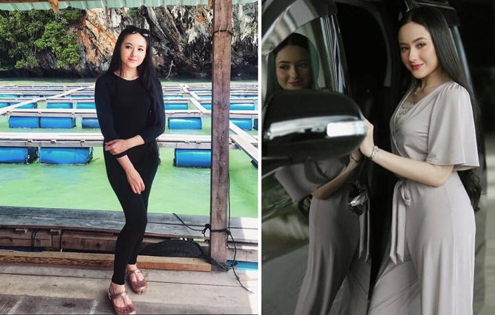 Gambar Hot Hannah Delisha Duta Produk Huawei Nova 2i