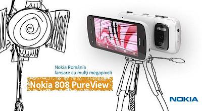 lansare Nokia 808 PureView in RO