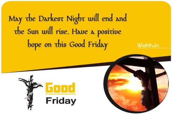 Happy Good Friday Wishes Posters