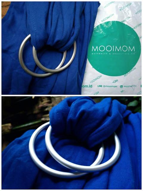 Review lengkap Mooimom ringsling harga terjangkau