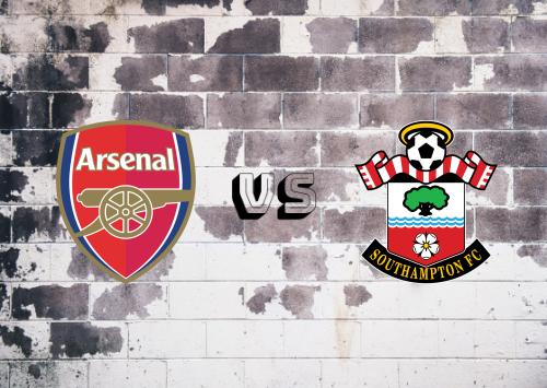 Arsenal vs Southampton  Resumen y Partido Completo