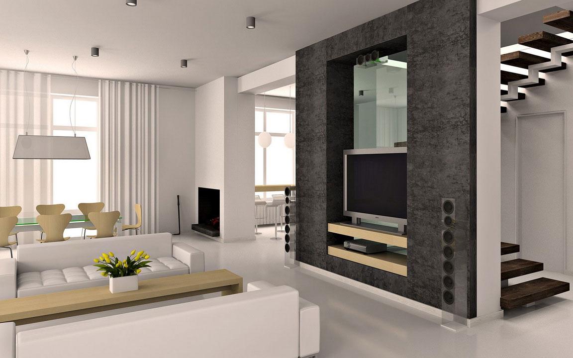 Design Interior Rumah Minimalis Dekorasi Moderen