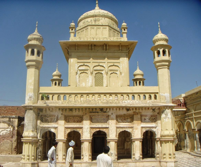 Pakistan Geotagging: Bhoman Shah: Gurdwara of Bhumman Shah