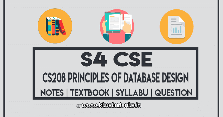 Principles of Database Design CS208 Solved Previous Question