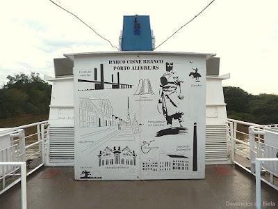 Passeio de barco pelo Guaíba - Cisne Branco - Porto Alegre