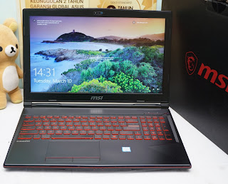 Laptop Gaming MSI GL63 Core I7