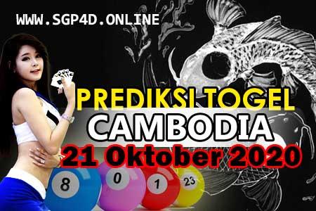 Prediksi Togel Cambodia 21 Oktober 2020