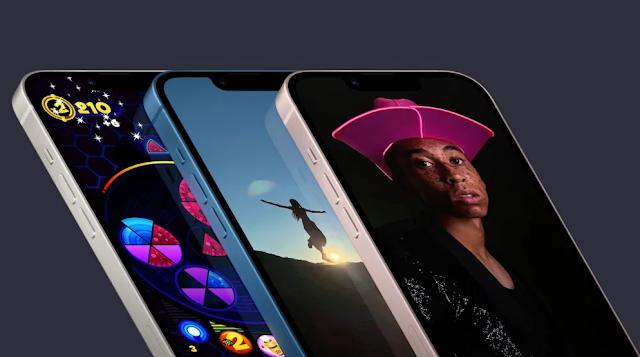 أعلنت آبل عن iPhone 13: نوتش أصغر بنسبة 20٪ ، وألوان جديدة ، وشريحة A15
