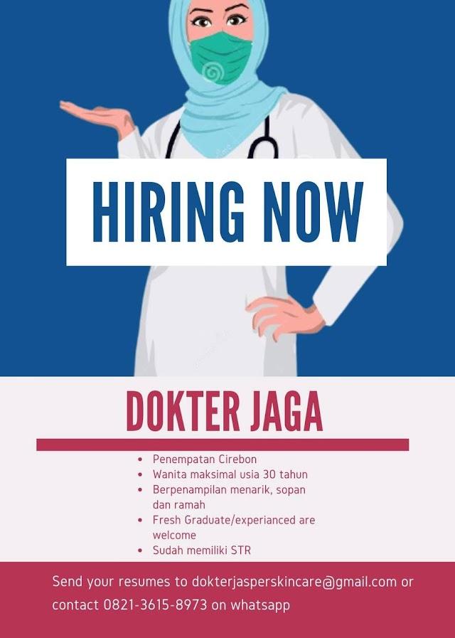 Loker Dokter Jasper Skincare Penempatan Cirebon
