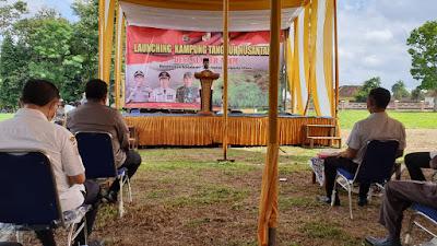 """Desa Sumber Arum di Resmikan Plt Bupati Lampura Sebagai """"Kampung Tangguh Nusantara """""""