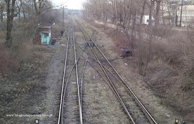 Tory kolejowe na terenie krakowskiego kombinatu