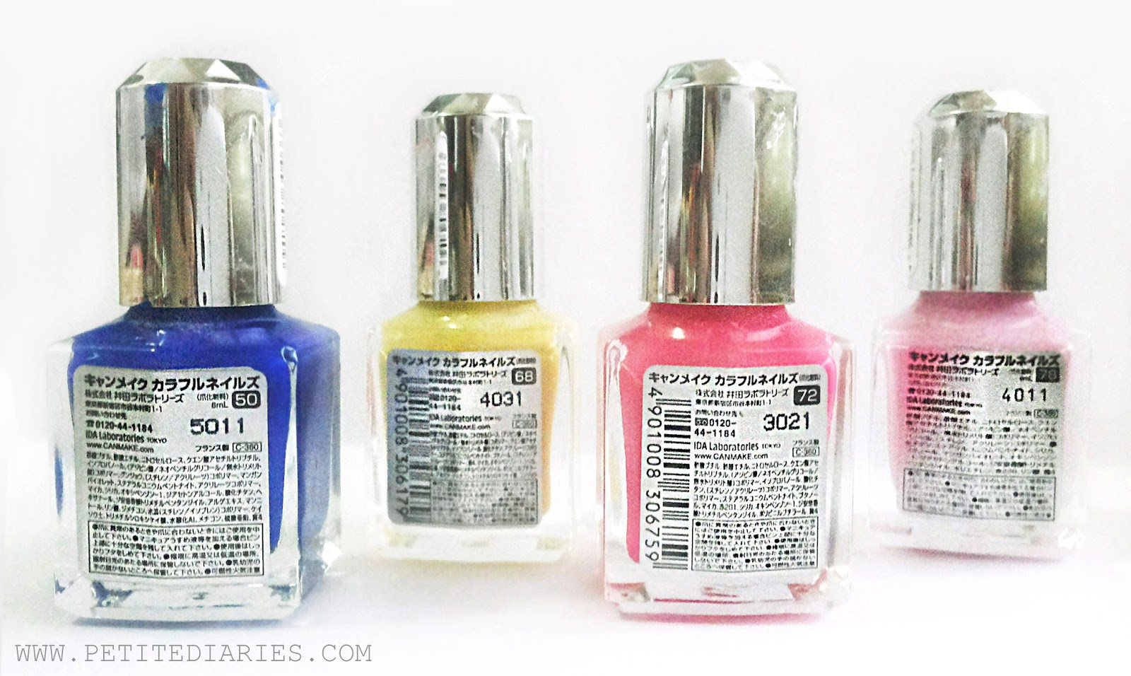 canmake nail polish review