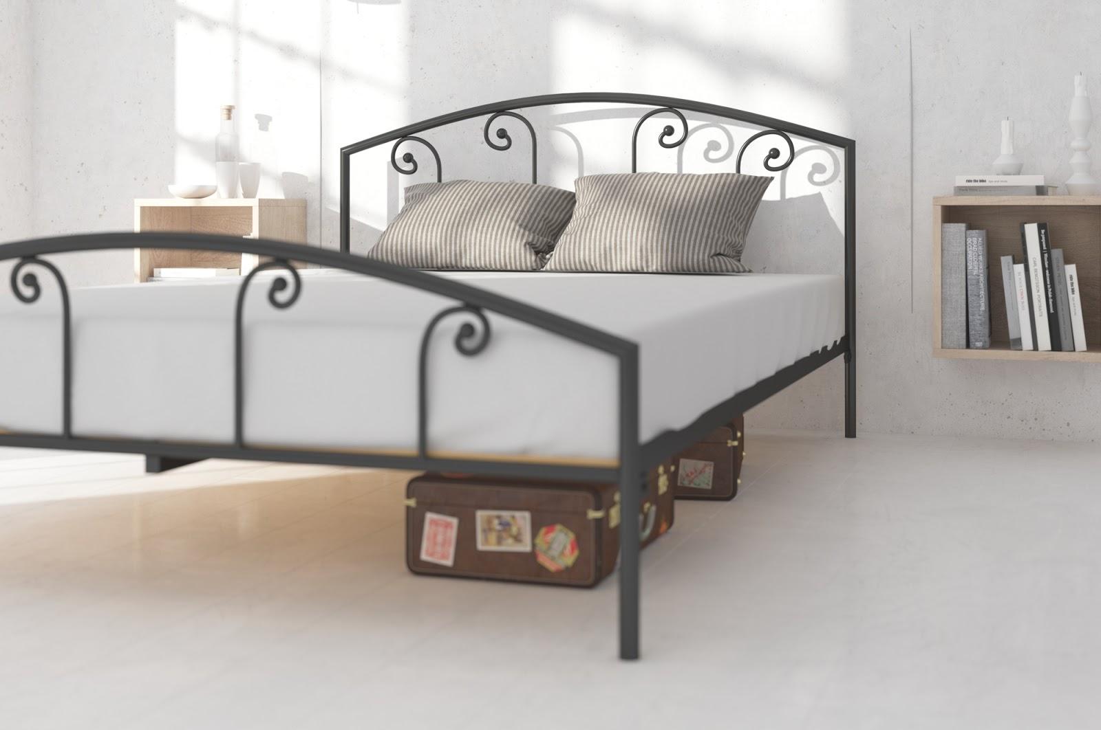 Łóżko metalowe wzór 20