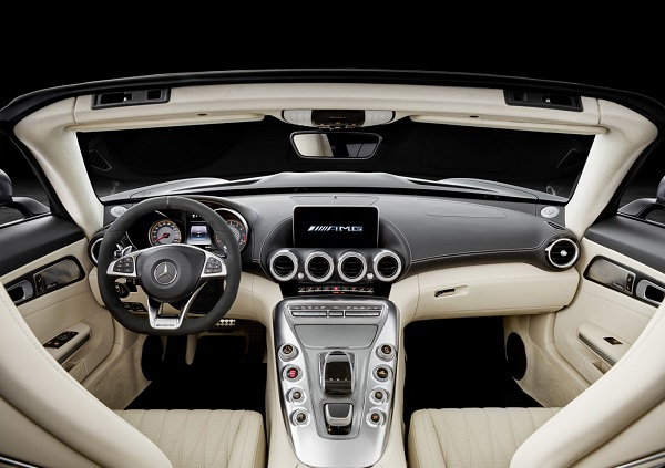 Interior Mercedes AMG GT C Roadster