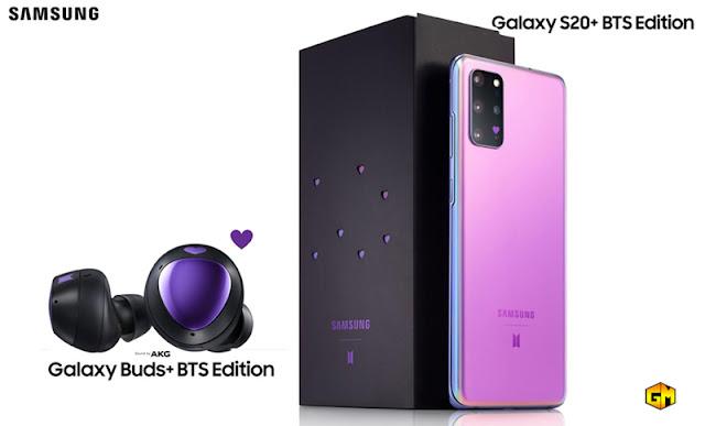 BTS Edition Samsung S20 Gizmo manila