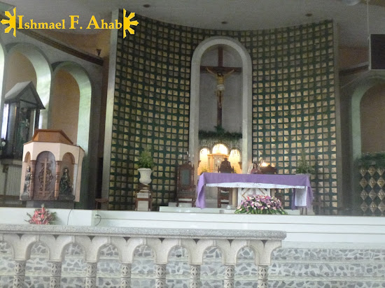 Our Lady of Mt. Carmel Church Altar in Cebu City