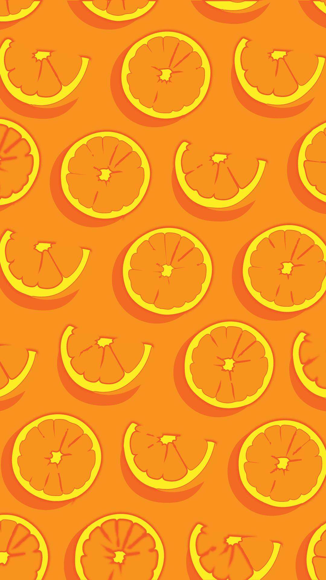oranges seamless