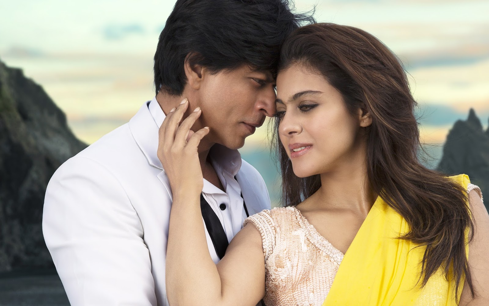 beautiful shahrukh khan and kajol wallpaper - beautiful desktop hd