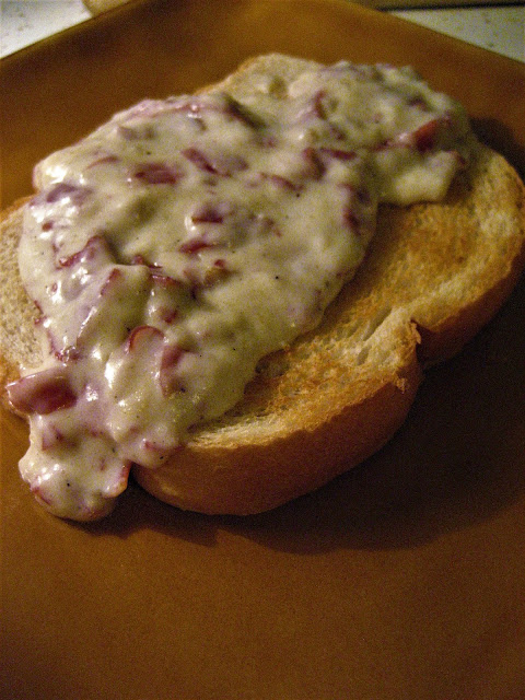 Chipped-Beef-On-Toast