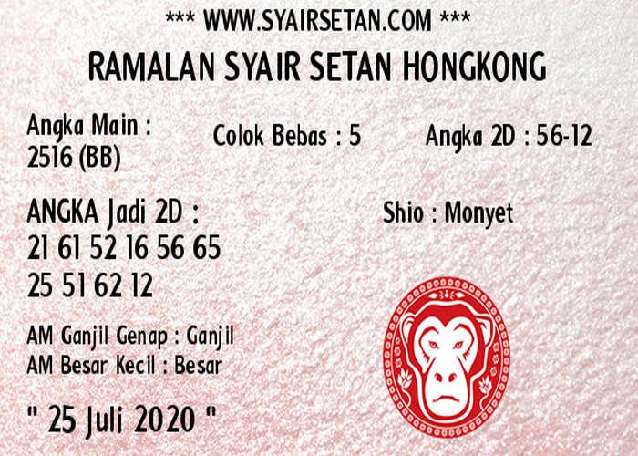 Kode syair Hongkong Sabtu 25 Juli 2020 203