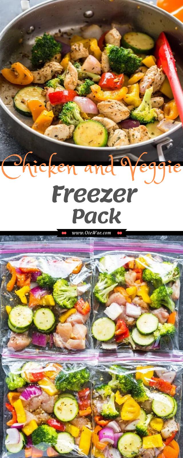 Chicken and Veggie Freezer Pack