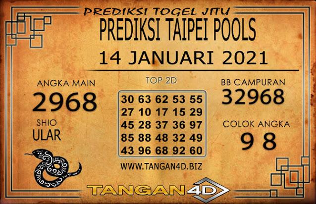 PREDIKSI TOGEL TAIPEI TANGAN4D 14 JANUARI 2021