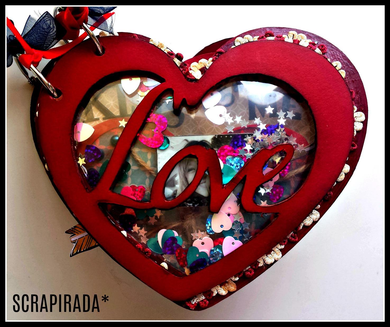 Scrapirada lbum especial san valent n estructura de bazar - Album para san valentin ...