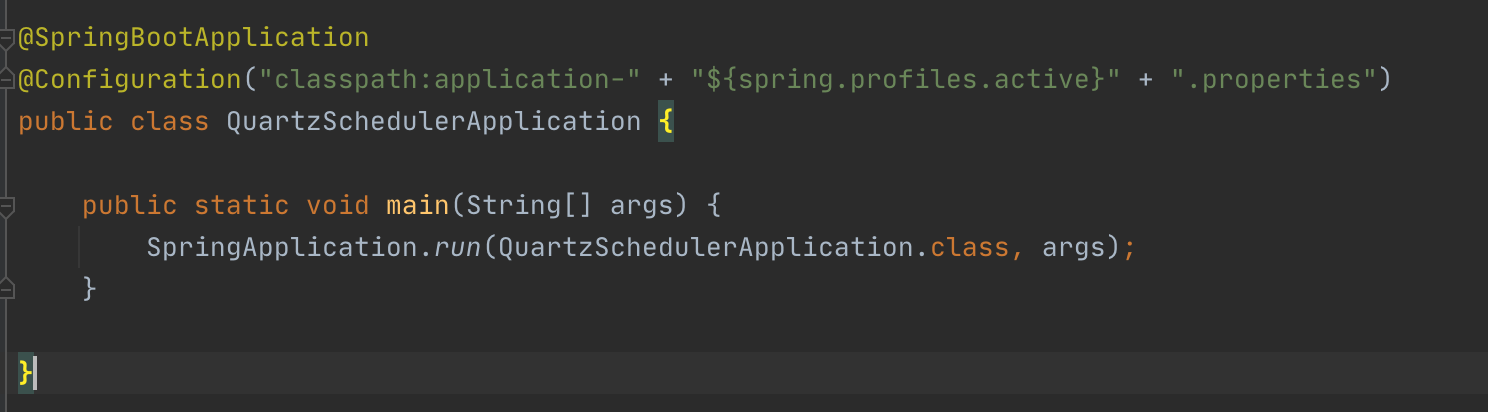 spring profiles active in spring boot