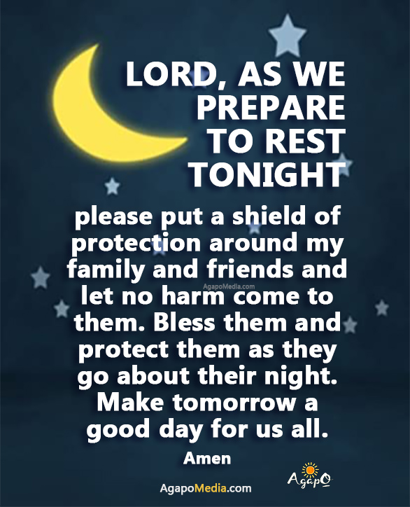 As we prepare to rest tonight...