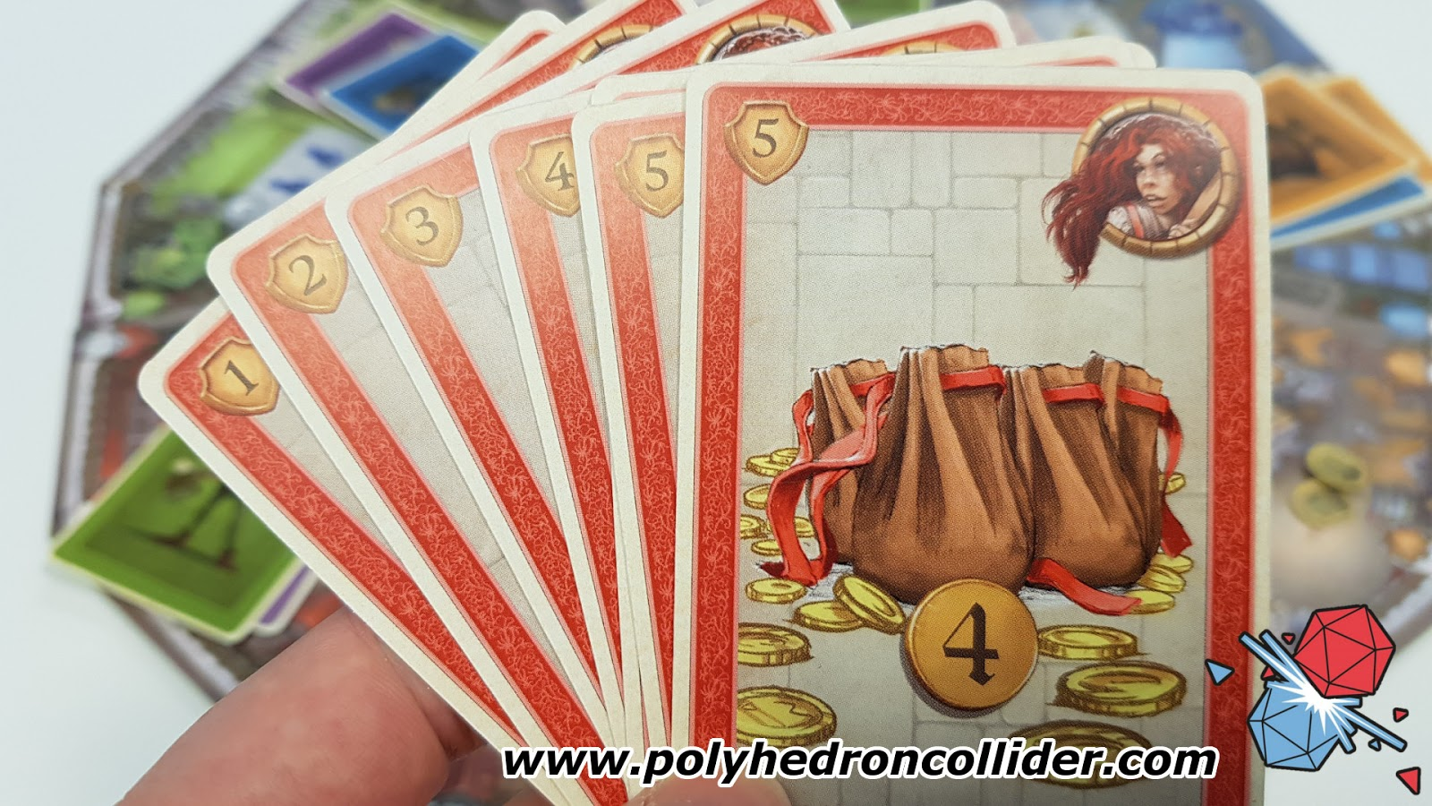 Polyhedron Collider Slyville Board Game Review - Hand Of Cards