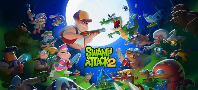 Swamp Attack 2 Mod Apk Unlimited Money Download the latest version