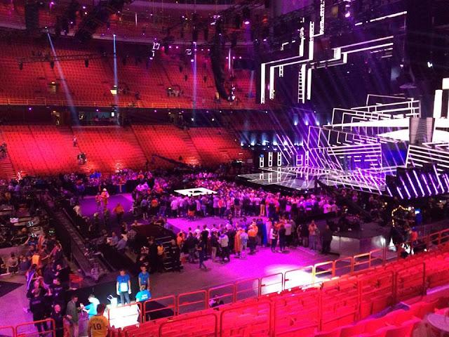 Eurovision, Eurovision Song Contest, Globe Arena, Ericsson Globe,