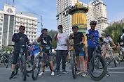 GJM Kian Ramaikan Komunitas Gowes di Medan