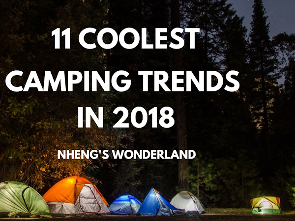 11 Coolest Camping Trends in 2018