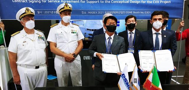Fincantieri e le nuove portaerei coreane