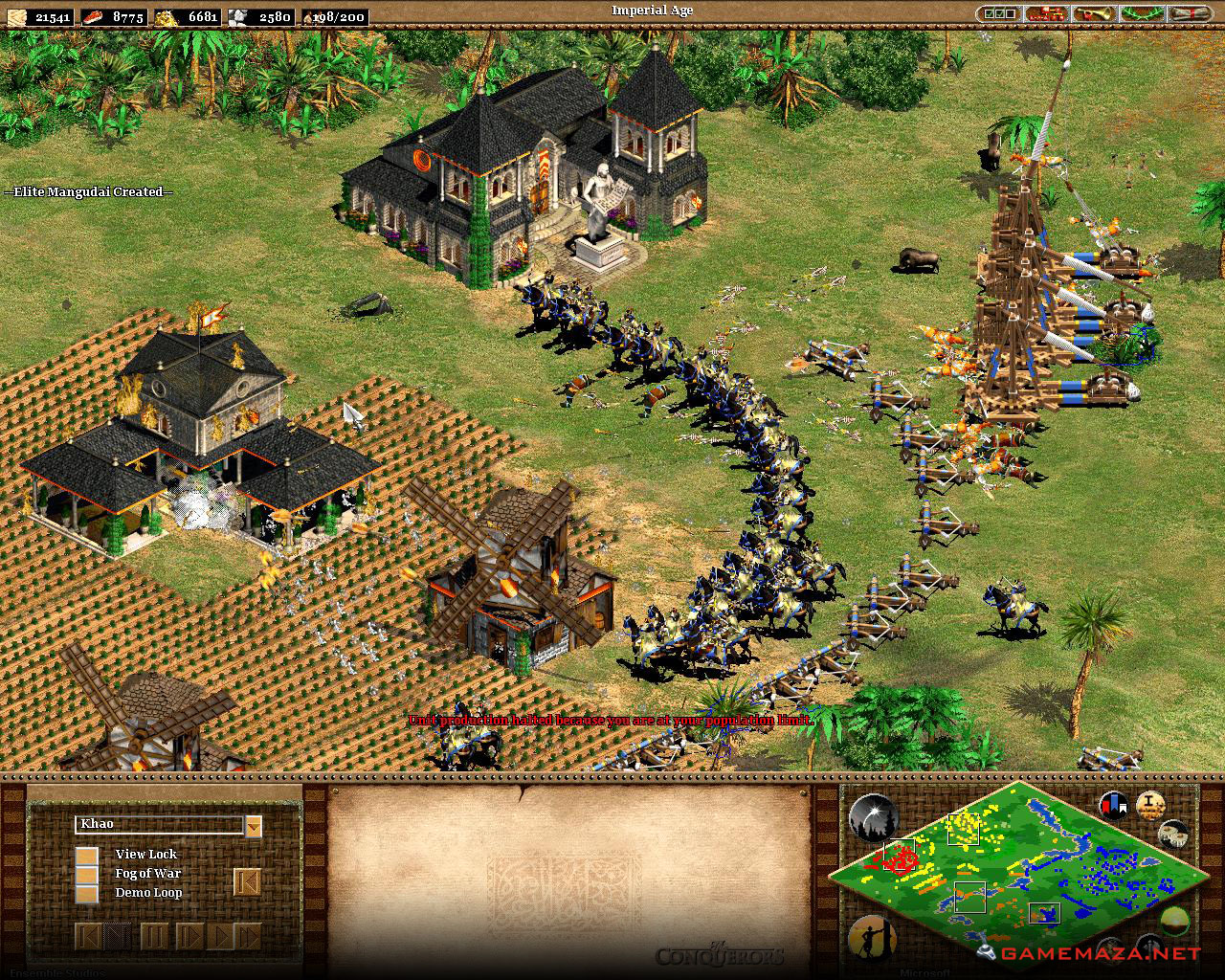 Age Of Empires Ii The Conquerors Free Download Game Maza