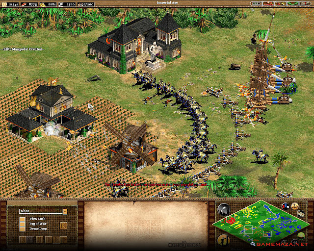 Age of Empires II The Conquerors Gameplay Screenshot 1