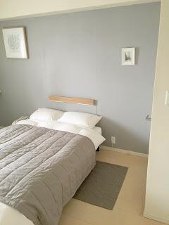 無印良品の「壁に付けられる家具・長押」を照明に使います