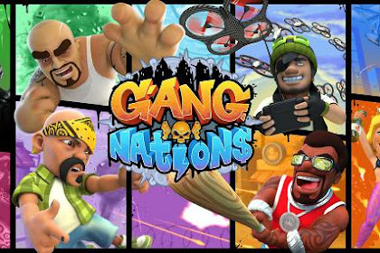 Download Gang Nations v30.0.2.1055.0 APK + OBB (Mirip COC) Android Terbaru