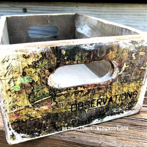 Sara Emily Barker https://sarascloset1.blogspot.com/2019/09/abandoned-storage-box-for-vintage.html Altered Storage Box 3