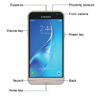 Samsung Galaxy Sol - Front