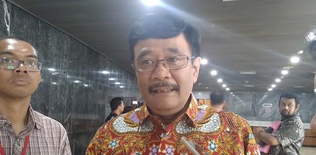Kisruh Lem Aibon Rp 82 M, Djarot Syaiful: Bukan Salah Anies Baswedan