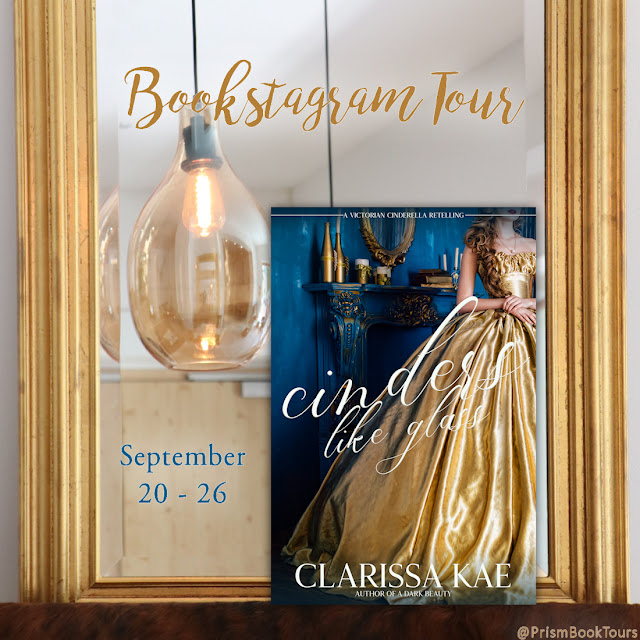 Check out the Bookstagram Tour for CINDERS LIKE GLASS by Clarissa Kae!