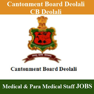 Cantonment Board Deolali, freejobalert, CB Deolali, CB Deolali Answer Key, Answer Key, cb deolali logo