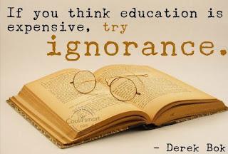 Educación vs Ignorancia
